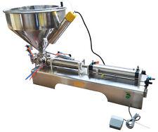 Updated 110V Paste Liquid Heating Filling Machine 100-1000ml Us Seller New