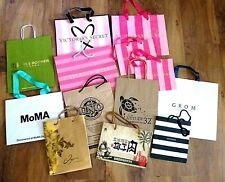 """Lot Of 15 Assorted Gift Bags Wedding Gift Bags Party Bags 6-10"""" Tall"""