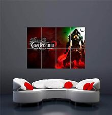 XBOX ONE PS3 PS4 PC GAME CASTLEVANIA (2) NEW GIANT WALL ART PRINT POSTER OZ1166