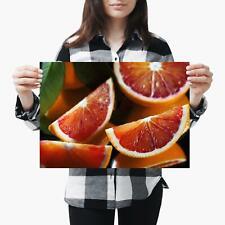 N-449 Blood Orange Silk Poster 12x18 24x36 Negro Swan Rapper