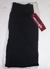 Crush Girls Cable Knit Leggings Sz 7 / 16 Black Cotton Poly Blend NEW NWT