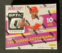 2020 Panini Optic Choice Baseball Factory Sealed Hobby Box In Hand 3 Autos