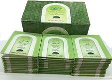 Quran 30 juz Translation and Roman Script Art Paper 30 Pocket Size Booklet Fancy