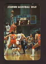 Stanford Cardinal--1980-81 Basketball Pocket Schedule--San Diego Federal Savings
