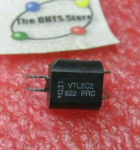 VTL5C2 Perkin-Elmer Sealed Photocell LED Opto-Coupler Isolator - NOS Qty 1