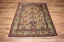 Luxus Perser/Orient Teppich Seide auf Seide Gh-om fein 160 x 107 Tiermotive TOP