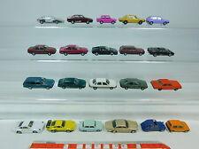 AU986-1# 21x Herpa H0 coches de aficionados: Porsche+BMW+Volkswagen/VW+Mercedes/