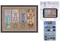 MIRABILIA Cross Stitch PATTERN & EMBELLISHMENT PACK Dressmakers Daughter MD121