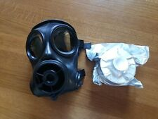 More details for avon s10 size 1 (xlarge)  british army respirator military gas mask & new filter