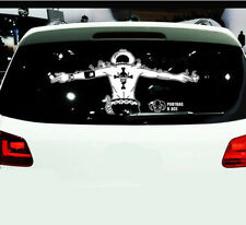 60cm One Piece Portgas D Ace Car Body Window Door Tail Glass Graphics Decals