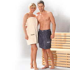 SAUNAKILT für Damen, mit Stickerei Farbe perl - Dyckhoff Sauna-Kilt - Baumwolle