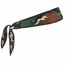 New Halo Headband Tie Version Camo Green Fits Under Helmet Blocks & Divert Sweat