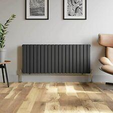 Lynwood Flat Panel Single Radiator Horizontal Central Heating System Anthracite