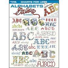 Leisure Arts Cross Stitch Patterns-Alphabets Galore