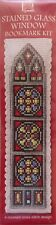 Counted Cross Stitch - Stained Glass Window Bookmark Kit - Textile Heritage