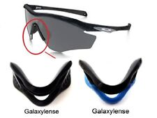 Galaxy Nose Pads Rubber Kits For Oakley M2 Frame Sunglasses Black/Blue