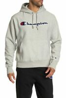 Champion Size X-Large Fleece Pullover Hoodie, Oxford Gray