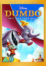 Walt Disney's Dumbo 70th Anniversary Special Edition Dvd New Factory Sealed