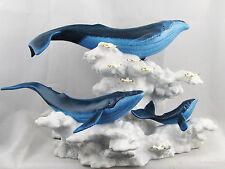 NIB WDCC Soaring In The Clouds 2000 Fantasia Whales Walt Disney Classics w/COA