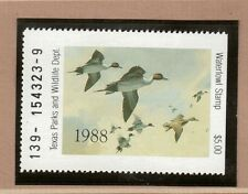 Tx8 - Texas State Duck Stamp. Mnh. Og.