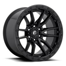 4 17 Inch Matte Black Wheels Rims Ford F150 Truck Fuel Rebel D679 17x9 1 6x135