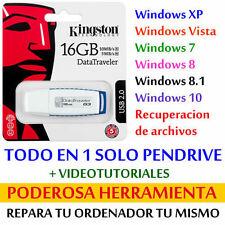 Pendrive multiboot 16 GB para INSTALAR y REPARAR tu ORDENADOR o PORTATIL