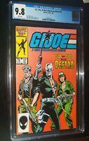 G.I. JOE, A REAL AMERICAN HERO #57 1987 Marvel Comics CGC 9.8 NM/MT