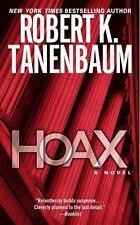 Hoax: A Novel, Robert K. Tanenbaum, Good Book