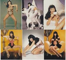 JUIE STRAIN AS BETTIE PAGE  TRADING CARD SET  MINT CONDITION   **SPECIAL PRICE**