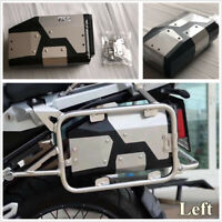 Stainless 4.2L Tool Box For 2004-2018 BMW R1200GS LC Adventure Left Side Bracket