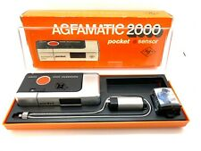 Agfa Agfamatic 2000 pocket sensor Color Agnar 1:9,5/26 boxed