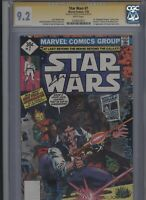 Star Wars #7 CGC 9.2 SS Howard Chaykin 1978 - 1st expanded universe story