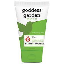 Goddess Garden, Organics, Bambini, Naturale Crema Solare, SPF 30, 1 OZ