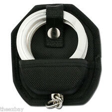 Handcuff Case MOLDED NYLON Hand Cuffs Belt Loop + SNAP Cuff