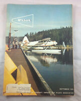 AOPA Pilot Magazine  Airplane Aviation Sept 1965 Howard Monoplane  Floats