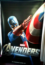 Cinema Banner: AVENGERS ASSEMBLED - MARVEL 2012 (Captain America) Chris Evans
