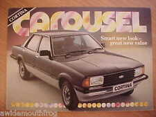 Ford Cortina Carousel Special Edition Sales Folder