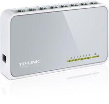 TP-LINK TL-SF1008D 8 Ports External Desktop Ethernet Switch 10/100 Retail New