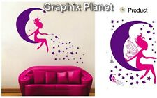 FAIRY WALL STICKERS FOR GIRL'S BEDROOM DECOR DECAL FOR PRINCESS ROOM, FREE POST