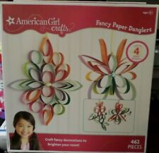 American Girl Crafts - Fancy Paper Danglers - NEW