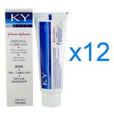Johnson & Johnson KY K Y Jelly Personal Lubricant Vaginal Dryness Cream 100g x12