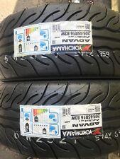 2x 205/45 R16 Yokohama AD08R 83W Track Day/Race/Road Tyres