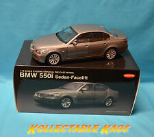 1:18 Kyosho - BMW 550I Sedan - Facelift - Grey NEW IN BOX