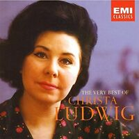 Christa Ludwig - The Very Best of /  2CD EMI RECORDS 2003