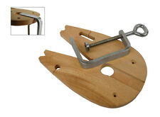 The Studioflux© Jewelry Making Sawing Wooden Bench Pin Workbench Tool