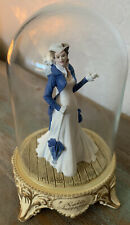 Gone With the Wind Scarlett'S Independence Franklin Mint Figurine w/Glass Dome