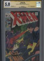 X-Men #59 CGC 5.0 2x SS Neal Adams & Roy Thomas 1969