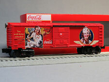 LIONEL COCA COLA HERITAGE MILITARY BOXCAR #2 coke train O GAUGE 6-83781 NEW