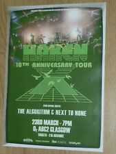 Hacken - Glasgow march 2017 live show 10th anniversary tour concert gig poster