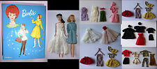 Original 60s Barbie & Midge with Double Case and Outfits